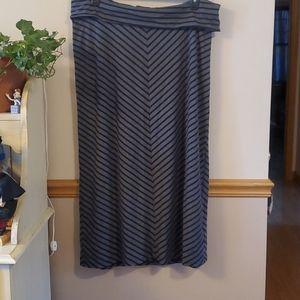 2/$25 Old Navy Maternity Skirt - full length